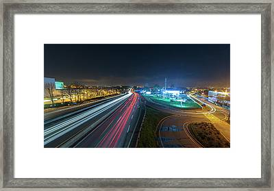 Framed Print featuring the photograph Lines  by Bruno Rosa