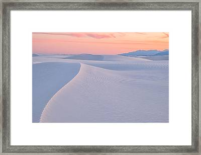 Framed Print featuring the photograph Lines In The Sand by Patricia Davidson