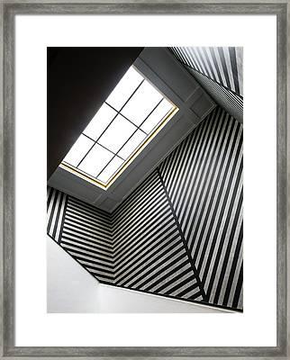 Lines Framed Print by Luc Vangindertael