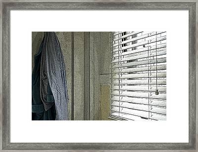Lines Framed Print by Michael Friedman