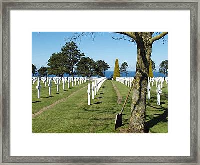 Lines Of Heroes Framed Print by Frank Nicolato