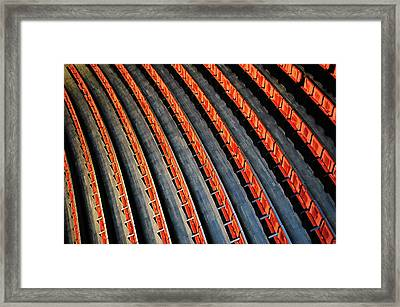 Lines Framed Print by Roman Rodionov