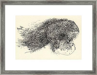 Lines - #ss13dw008 Framed Print