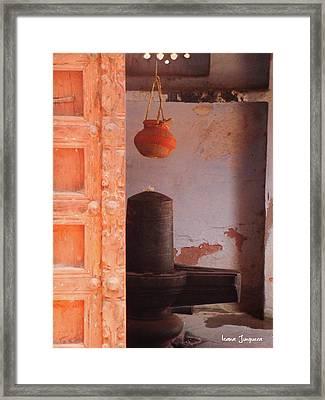 Lingam Framed Print