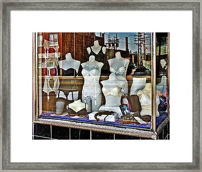 Lingerie Framed Print by Curtis Staiger