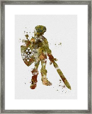 Link 2nd Edition Framed Print