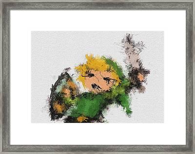 Link Framed Print by Miranda Sether