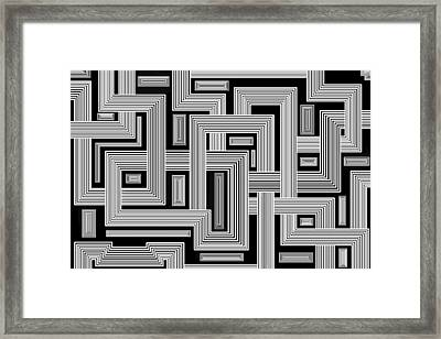Links Too Framed Print by Christopher Rowlands
