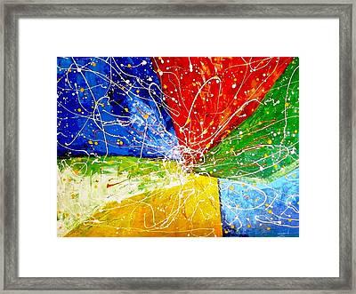 Linkz Framed Print by Piety Dsilva