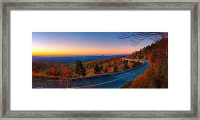 Linn Cove Viaduct Framed Print by Taylor Franta