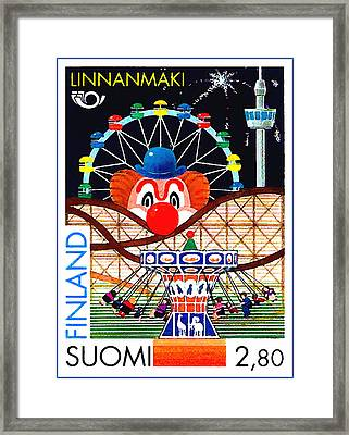 Linnanmaki Amusement Park Framed Print