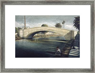 Linnie Canel Venice  Framed Print