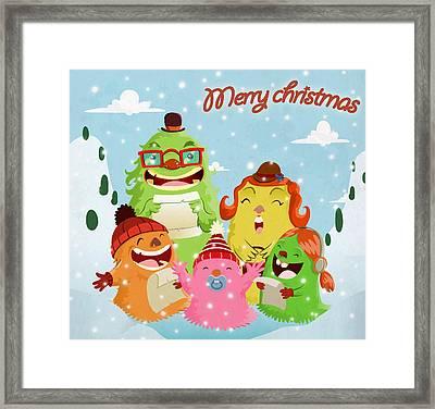 Lint Family Framed Print