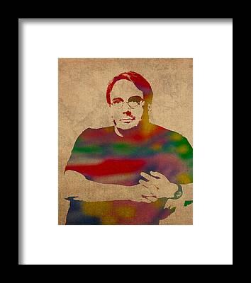 Linus Framed Prints