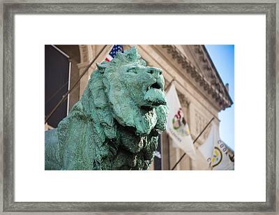 Lion Art Institute Framed Print