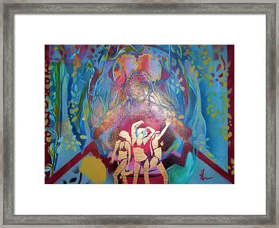 Lion Dance Framed Print by Dorian Williams