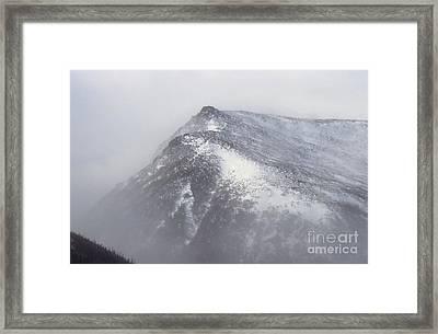 Lion Head - Mount Washington New Hampshire Framed Print