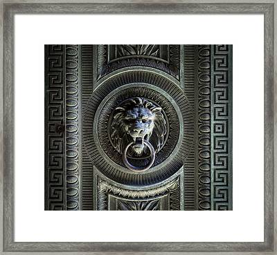 The Guardian I Framed Print by Denise McKay