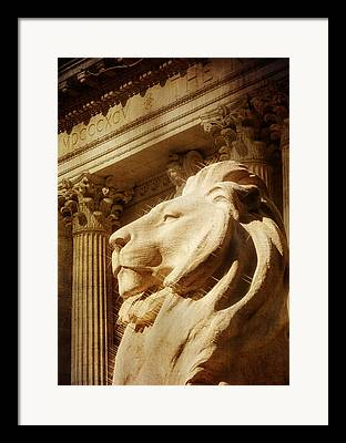 New York Public Library Framed Prints