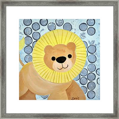 The Blessing Of The Lion Framed Print