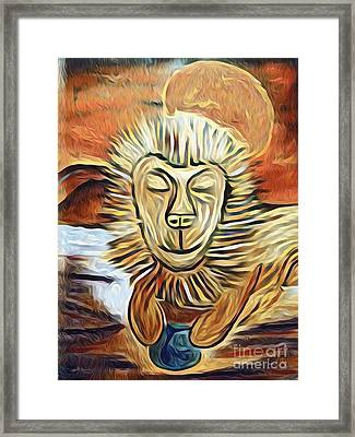 Lion Of Judah II Framed Print