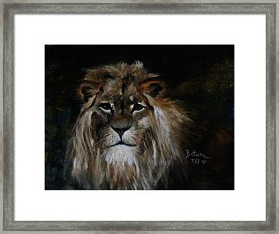 Sargas The Lion Framed Print