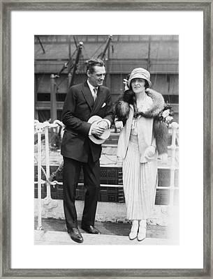 Lionel Barrymore 1878-1954 Framed Print by Everett