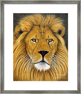 Lionel Framed Print by Lawrence Supino