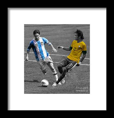 Neymar Framed Prints