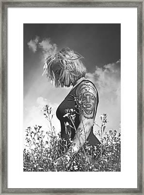 Lioness  Framed Print by Pamela Patch