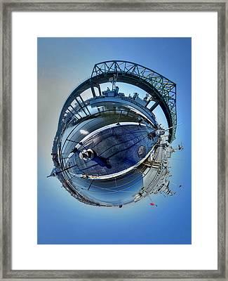 Lionfish Framed Print by Christopher Blake