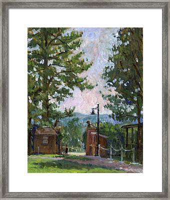 Lion's Gate Tanglewood Framed Print by Thor Wickstrom