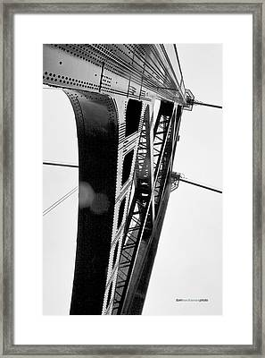 Lions Gate Framed Print by Tom Buchanan