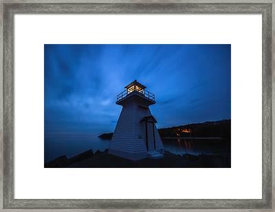 Lions Head Lighthouse Framed Print