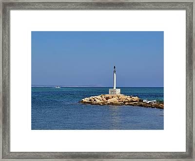 Liopetri Beach Framed Print