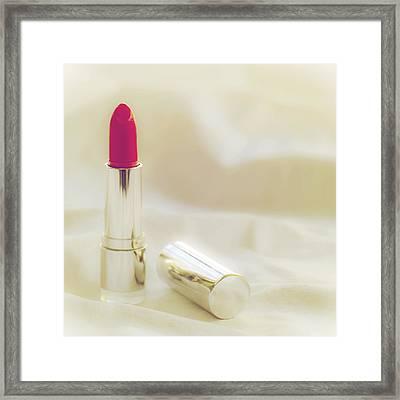 Lipstick Framed Print by Joana Kruse