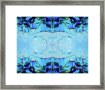 Liquid Abstract  #0059-2 Framed Print