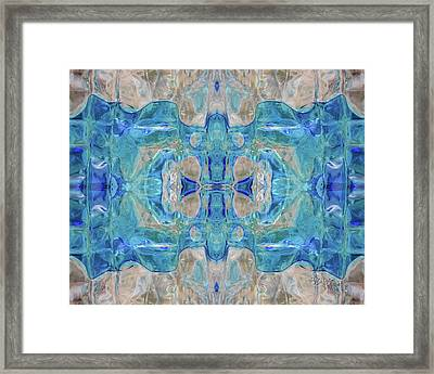 Liquid Abstract  #0060-1 Framed Print
