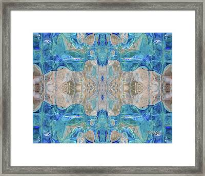 Liquid Abstract  #0060-2 Framed Print