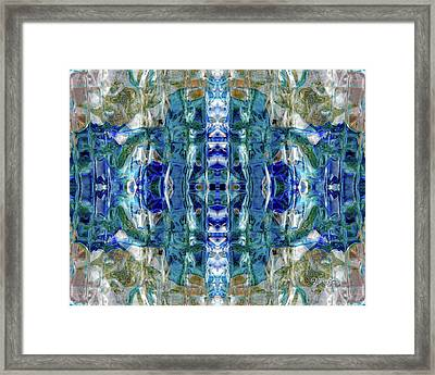 Liquid Abstract #0061-2 Framed Print