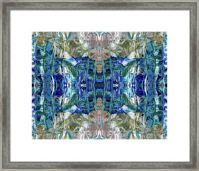 Liquid Abstract #0061_1 Framed Print