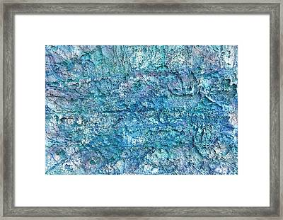 Liquid Abstract #22617 Framed Print