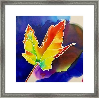 Liquid Amber Framed Print