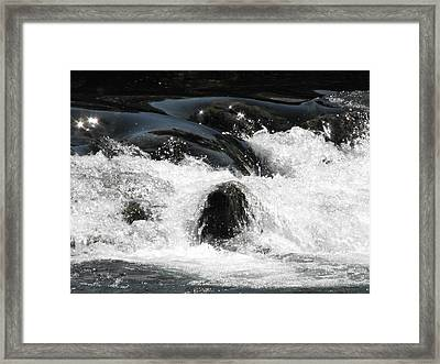 Liquid Art Framed Print