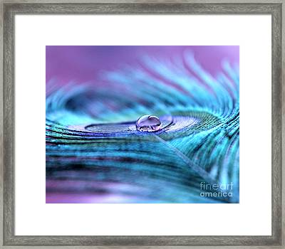 Liquid Bliss Framed Print