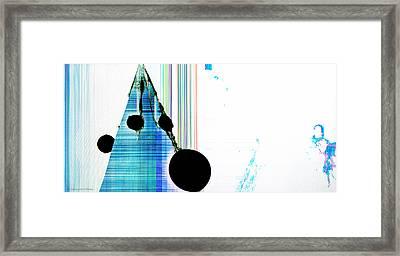 Liquid Crystal Framed Print