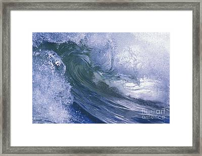 Liquid Crystal Framed Print