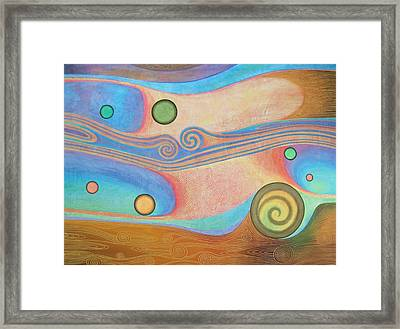 Liquid Crystals Framed Print by Jennifer Baird