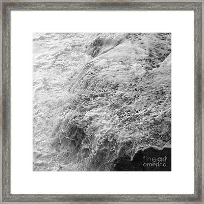Liquid Edge. 2 Framed Print by Paul Davenport