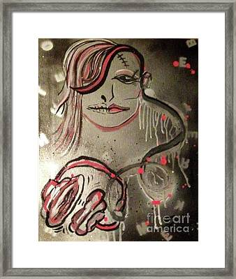 Liquid Ether Spacial Sound Framed Print by Talisa Hartley